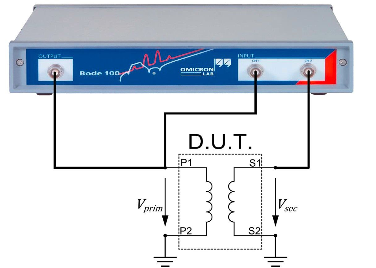 Cable Analysis Contactless Ac Mains Voltage Detector Circuit Diagram The Equivalent Parameters Of A Transformer Can Be Derived By Some Simple Measurements This Application Note Guides Through Measurement Steps